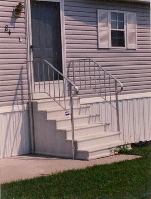 Ace Home U0026 Building Center, Inc.   Century Concrete Steps And Handrails